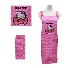 Sanrio Hello Kitty Polyester Women Apron One SZ Pink - Ribbons