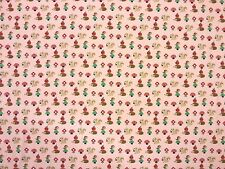 HEDGEHOG JERSEY PINK TEX EX 976 SQUIRREL STRETCH DRESSMAKING FABRIC CHILDREN'S