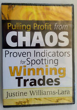 PULLING PROFIT FROM CHAOS by Justine Williams-lara * New Stock Trading DVD *