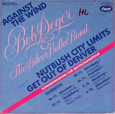 """7"""" Bob Seger –  Against The Wind / ° Special Tour EP Edition ° // Germany 1980"""