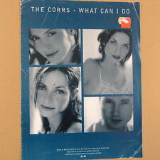 songsheet WHAT CAN I DO The Corrs 1997
