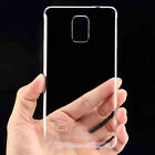 Clear Ultra Thin Crystal Hard PC Back Skin Case Cover For Samsung Galaxy Series
