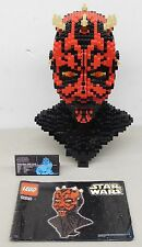 LEGO Star Wars Episode 1 #10018 DARTH MAUL HEAD / BUST -Building Kit (Displayed)