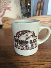 G. H. Bass & Co Fly Fishing Mug Great Outdoors Outfitters Coffee Tea  Chocolate