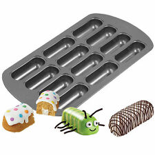 12 Cavity Delectovals Mini Snack Cake Baking Pan from Wilton 3646 New