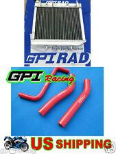 Aluminum Radiator+HOSE ATV Honda TRX 450 R TRX450 TRX450R 06 07 08 09 2006 2007