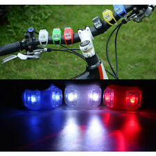 LED Bike Bicycle Frog Rear Lamp Tail light Flashing Safety Light Random Colorful