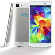 WHITE 3G SmartPhone 5.5in Android Phablet (FACTORY UNLOCKED) AT&T Net10 T-Mobile