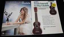 2 Hawaii Ukulele TAYLOR SWIFT FOR UKULELE and TEACH YOURSELF TO PLAY UKULELE