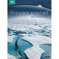 Frozen Planet Complete Series David Attenborough 3xDVD R4