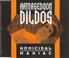 Armageddon Dildos Homicidal Maniac [Maxi Single]  (CD, Jul-1993, Sire)