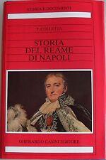 PIETRO COLLETTA STORIA DEL REAME DI NAPOLI GHERARDO CASINI 1989