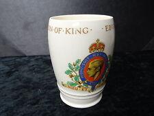 Adams China Beaker - Edward VIII 1937 Coronation.