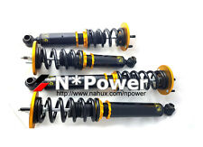 SYC ADJUSTABLE DAMPER COILOVERS F&R SET FOR NISSAN SKYLINE R33 RWD GTST 93-98