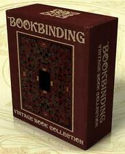 BOOKBINDING 65 Rare Books + 291 Hi-Res Book Cover Images on DVD-Rom, Book Design