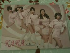 Kara group japan jp OFFICIAL Photocard Kpop K-pop snsd 2ne1 sistar + freebies