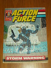 ACTION FORCE #37 14TH NOVEMBER 1987 MARVEL BRITISH WEEKLY COMIC