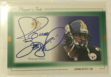 Jerome Bettis 1999 UD SP Authentic Players Ink on-card Auto  PITTSBURGH STEELERS