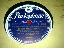 FREDDY RANDALL MY TINY BAND IS CHOSEN & MEMPHIS BLUES PARLOPHONE R4059