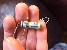 NOS Royal Tiger Wax Capacitor .0015 uf 400v Cornell Dubilier tone cap 3 avail.