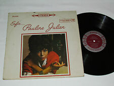 PAULINE JULIEN Enfin... LP Columbia Records Canada FS-536 Stereo French Vinyl VG
