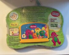 VTECH V SMILE BABY BARNEY LET'S GO TO A PARTY CARTRIDGE