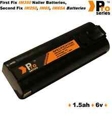 1 x replacement battery 6v 1.5ah (pro-series) for  paslode im350/350+/65/65A/250