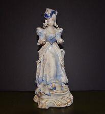 Vintage Porcelain Figurine Victorian Woman