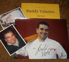 BUDDY VALASTRO Autographed Photo & Photos Cake Boss-REAL HOT