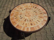 Table basse ronde de Roger Capron Coffee table France vers 1955