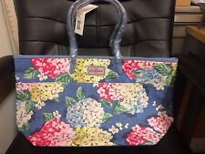 cath kidston large trimmed tote hydrangea design blue large tote bag lovely bag