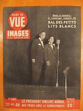 Point de Vue Images 20 du 21/10/1948-J.d'Arc Ingrid Bergam retour de la pucelle
