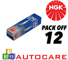 NGK LPG (GAS) Spark Plug set - 12 Pack - Part Number: LPG1 No. 1496 12pk
