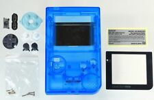 Game Boy Pocket [GBP] Replacement Case/Shell/Housing [Transparent Blue]