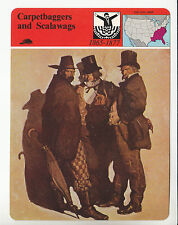 CARPETBAGGERS AND SCALAWAGS Post-Civil War South 1980 STORY OF AMERICA CARD