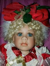 RARE PORCELAIN BABY DOLL BY ROMIE STRYDOM MNB STUNNING
