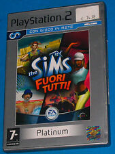 The Sims - Fuori Tutti - Sony Playstation 2 PS2 - PAL
