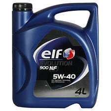 Elf Evolution 900 NF 5W-40  4 Litros Bidón
