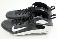 NIKE Air ZOOM BLADE PRO TD 3/4 Size 16 Black White Football Cleats 315791 011