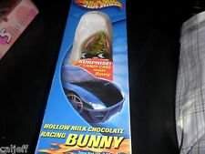 RARE 2001 HOT WHEELS MILK CHOCOLATE EASTER BUNNY SUPRISE CANDY CARS INSIDE