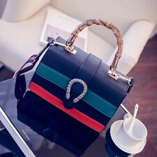 MW008851 - FASHION CONTRAST COLOURS SATCHEL SHOULDER BAG
