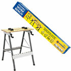 FOLDABLE WORKBENCH PORTABLE WOOD BENCH WORK CLAMPING FOLDING MDF WORKTOP TABLE