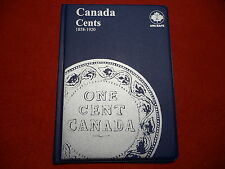 UNI-SAFE  CANADIAN   LARGE  CENTS  FOLDER  ALBUM    (1858 - 1920 )  (#3)
