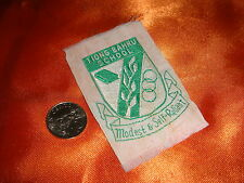 Singapore 1980's Tiong Bahru Primary School, Small Cloth Emblem, Nice Used