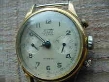 Vintage FLUDO Chronograph Watch Parts