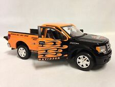 Harley Davidson, 2010 Ford F-150 Pickup Collectible Diecast 1:24 Maisto Toy BKOR