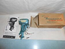 Vintage 1957 Gale Buccaneer 25 H.P. Battery Operated K+O Toy Outboard Motor