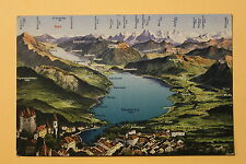Carte Postale ancienne THUNER SEE (THOUNE) SUISSE