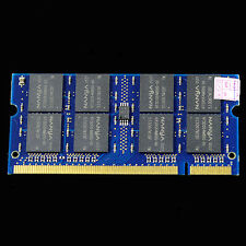 New 1GB DDR333 PC2700 333MHZ Laptop 200pin Notebook CL2.5 Low Density RAM ddr333