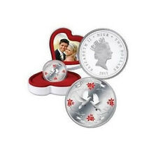 Niue 2011 2$ Eternal Love 2011 .999 Silver Coin DOVES, WEDDING~ANNIVERSARY GIFT